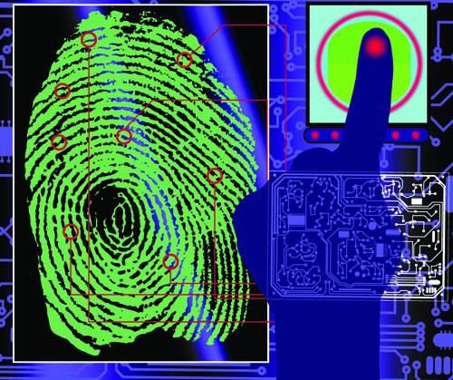 Set of Fingerprint identification vector 05 - Vector Other free ...