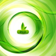 Link toGreen eco elements background vector 04