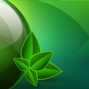 Link toGreen eco elements background vector 05