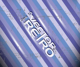 Set of retro Grunge background vector 01