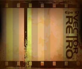 Set of retro Grunge background vector 04