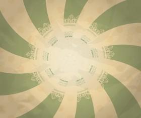 Set of retro Grunge background vector 06