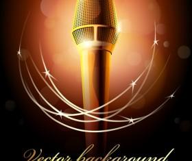 karaoke design elements vector 04