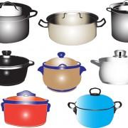 Link toDifferent kitchen utensils vector 02