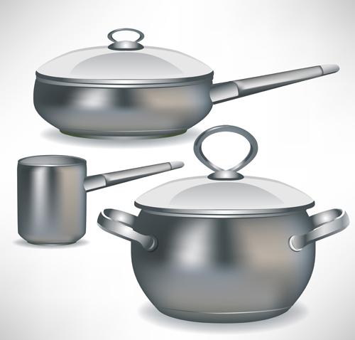Different Kitchen utensils vector 03 - Vector Life free download