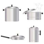 Link toDifferent kitchen utensils vector 04