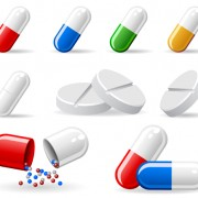 Link toMedical elements vector collection 03