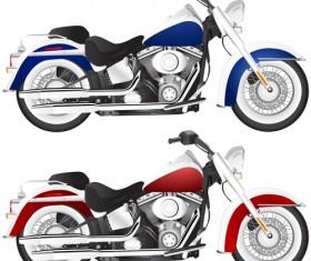 Various luxury Motorbike vector 01