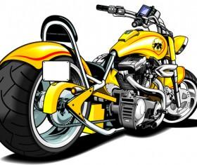 Various luxury Motorbike vector 04