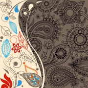 Link toSet of paisley pattern seamless vector 04