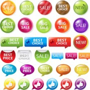 Link toBest sale elements label stickers 02