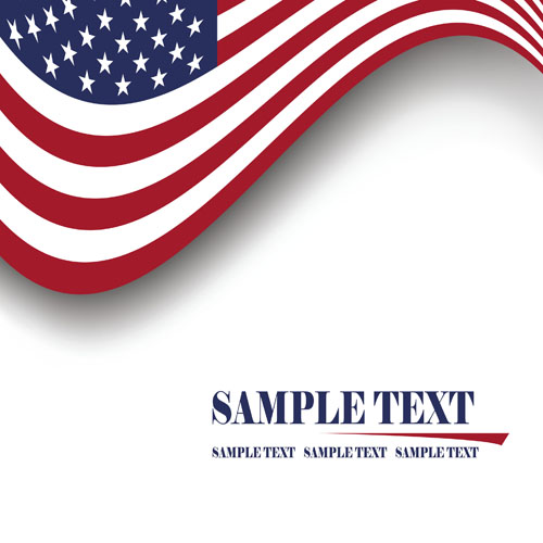Set of america flag vector 01 over millions vectors stock set of america flag vector 01 toneelgroepblik Image collections