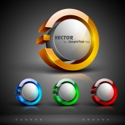 Link toVector concept abstract background 03