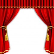 Link toRed curtain elements vector background 01