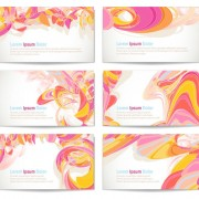 Link toColorful abstract cards vector graphics 02