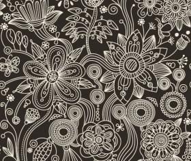 Floral Decorative pattern art elements vector 06