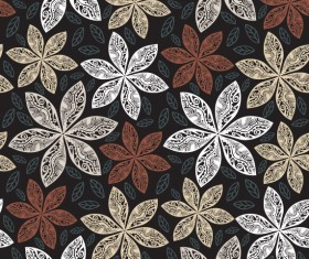 Floral Decorative pattern art elements vector 07
