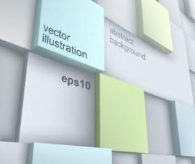 Concept 3D vector background graphics 03