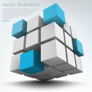 Link toConcept 3d vector background graphics 04