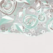 Link toHand drawn floral and paper of background vector 04