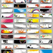 Link toCollection of stylish business cards design elements vector 04