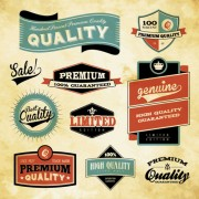 Link toBest business elements labels vector 02