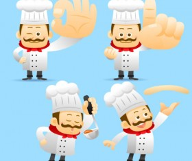 Different profession people vector set 01