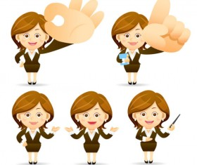 Different profession people vector set 02