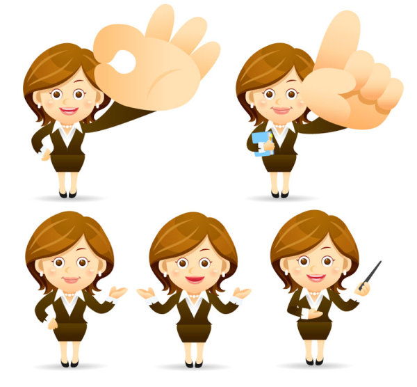 Free eps file different profession people vector set 02 download