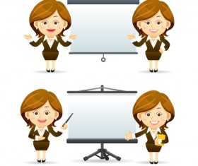 Different profession people vector set 03