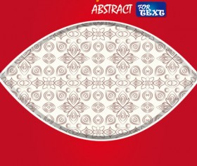 Set of Abstract color template background vector 01