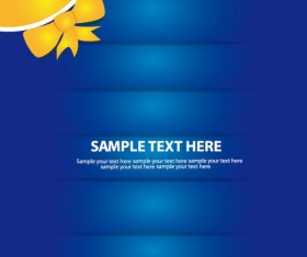 Set of Abstract color template background vector 02