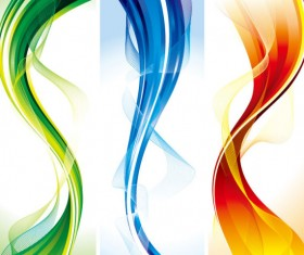 Abstract Smooth and colorful of Shiny vector background 03