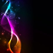 Link toColorful shiny waves background vector graphic 01