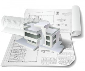 Architecture drawings design elements vector graphics 01