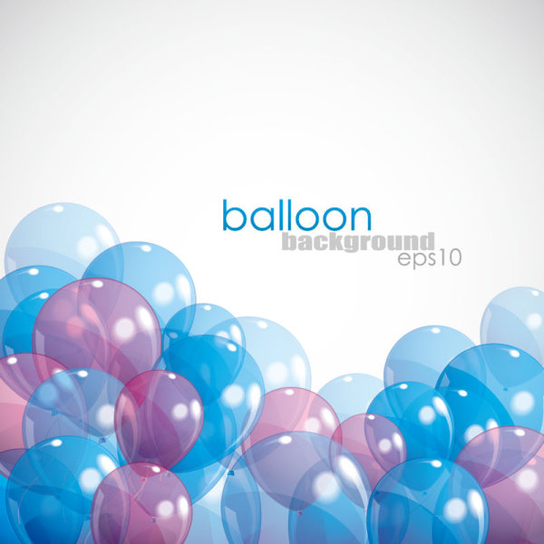 Festival elements of colorful balloon Illustration vector 02