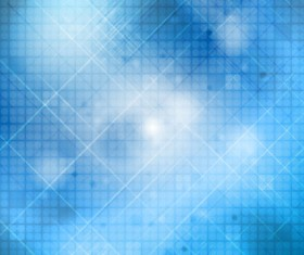 Abstract blue background vector set 01