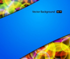 Set of Creative Abstract background vector graphics 01