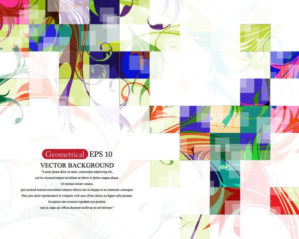 Creative Graphics Design Background: Set Of Creative Abstract Background Vector Graphics 03