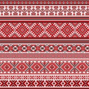Link toUkraine style fabric ornaments vector graphics 08