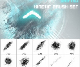 Kinetic Brushes for Photoshop