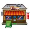 Elements of Cartoon Store vector 02