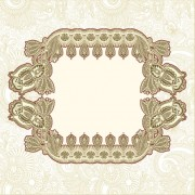 Link toRetro lace decoration frames vector 01