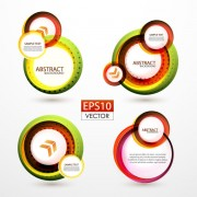 Link toAbstract circle concept background vector 01