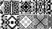 Link toVarious black patterns for photoshop