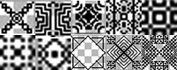Various Black patterns for Photoshop