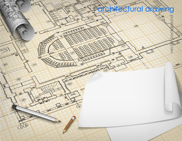 House plans and design architectural design vector for Architectural design elements