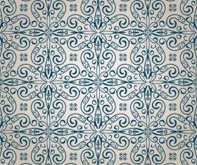 Seamless Decorative pattern vector 02