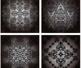 Seamless Decorative pattern vector 05