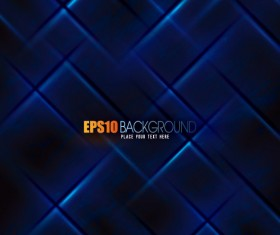 Abstract blue grid background  vector 01